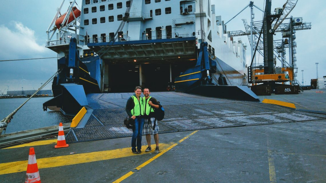Verschiffung Antwerpen-Halifax